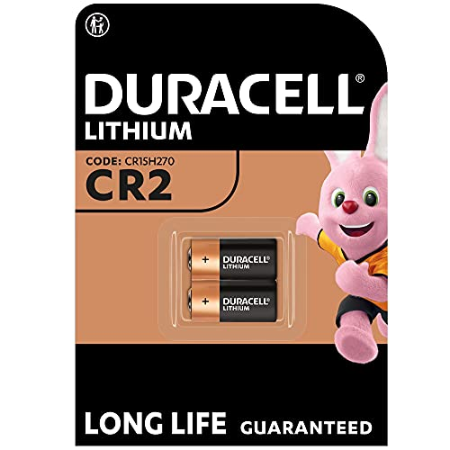 Duracell High Power Lithium CR2 Battery 3V, Pack of 2 (CR15H270) for Sensors, Keyless Locks, Photo Flash and Flashlights from Duracell
