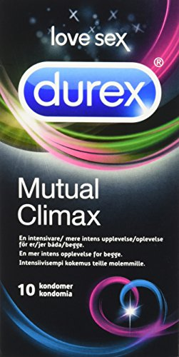 Durex Transparent Love Sex Mutual Climax Latex Condom - Pack of 10 from Durex
