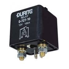 12V 100 AMP HEAVY DUTY RELAY / SPLIT CHARGE RELAY DURITE 0-727-10 from Durite