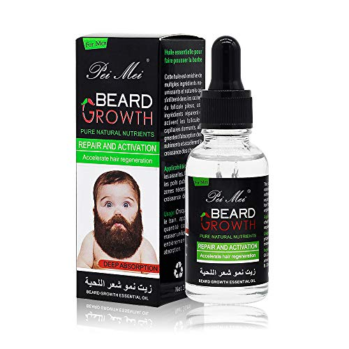 Beard Growth Oil, Duvina Hair Growth Oil Beard Oil Beard Care Products(30ml) from Duvina