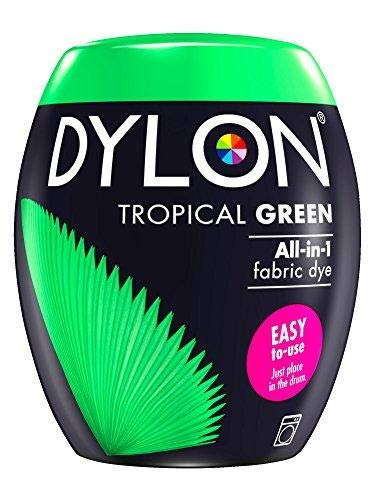 Dylon Machine Dye Pod, Tropical Green, 350G from Dylon