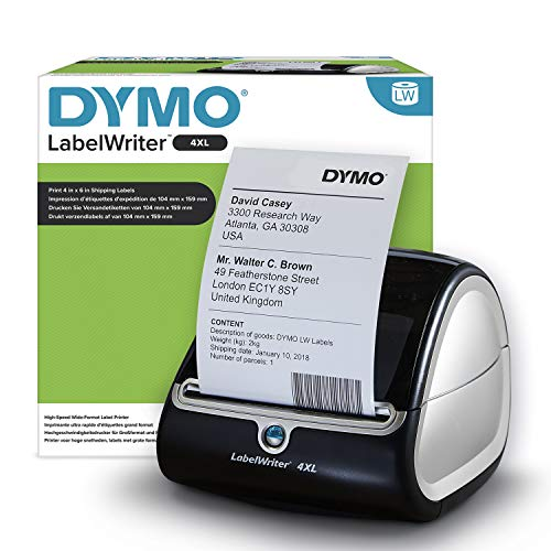 DYMO LabelWriter 4XL, Black from Dymo