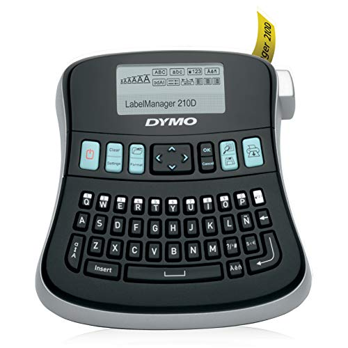 Dymo S0784440 Label Manager 210D Label Maker Qwerty Keyboard from Dymo