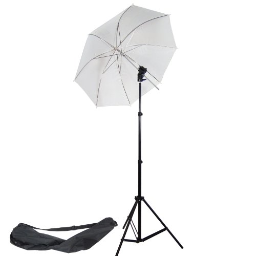 DynaSun W968S Professional Kit with Holder, Umbrella, Stand and Bag for Cold Shoe Mount Flash Gun Flashgun from DynaSun