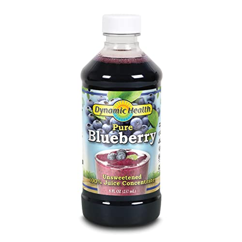 Dynamic Health 473ml 100 Percent Pure Blueberry Juice Concentrate from Dynamic Health