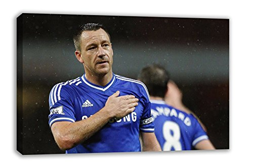 "Chelsea FC John Terry Captain Legend Canvas Wall Art (44X26"") from Dynamo Printing Ltd"