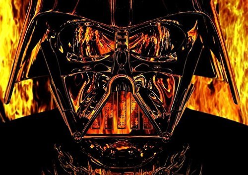 Darth Vader Poster (A1 (841 X 594MM)) from Dynamo Printing Ltd