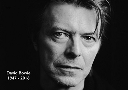 DAVID BOWIE MUSIC ICON POP LEGEND COMMEMORATIVE POSTER (A0(1189X841MM)) from Dynamo Printing Ltd