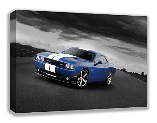 "Dodge Challenger Srt8 392 Canvas Wall Art (30X18"") from Dynamo Printing Ltd"