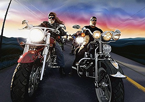 Harley Davidson Poster (A2 (594 X 420MM)) from Dynamo Printing Ltd