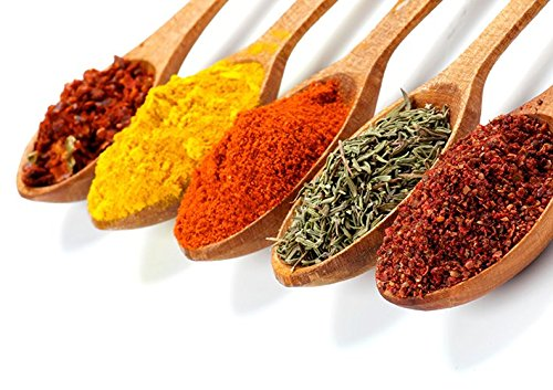 Herbs & Spices Kitchen Poster (A2 (594 X 420MM)) from Dynamo Printing Ltd
