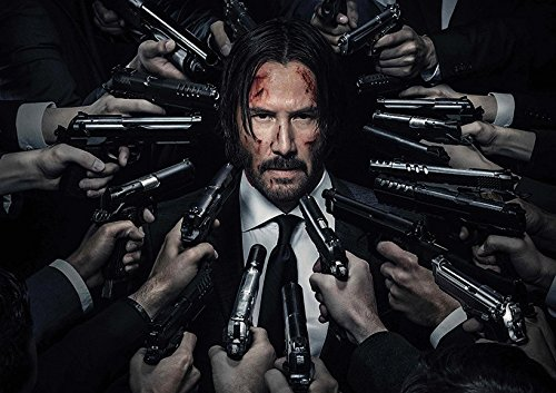 JOHN WICK CHAPTER 2 KEANU REEVES POSTER (A2-594x420MM) from Dynamo Printing Ltd