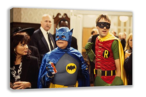 "ONLY FOOLS AND HORSES BATMAN AND & ROBIN CANVAS WALL ART (44X26"") from Dynamo Printing Ltd"