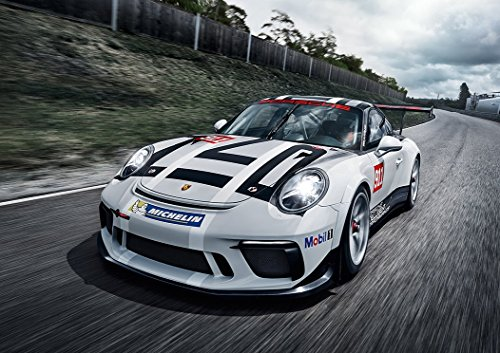 Porsche 911 GT3 Cup Racing Supercar Poster (A0-1189x841MM) from Dynamo Printing Ltd