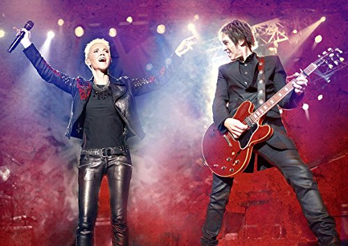 Roxette Concert Poster (A1-841x594MM) from Dynamo Printing Ltd