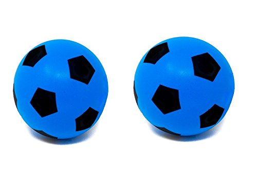 E-Deals 20cm Soft Foam Football - Pack of 2 Blue from E-Deals