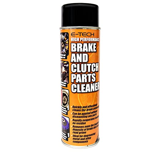 E-Tech brake and clutch cleaner from E-Tech