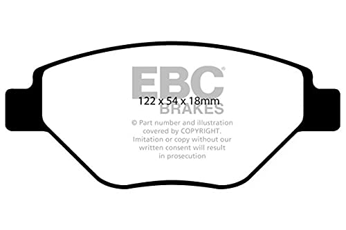 EBC Brakes DP1467 Blackstuff Brake Pads from EBC