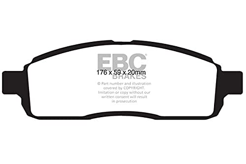 EBC Brakes DP1843 Blackstuff Brake Pads from EBC