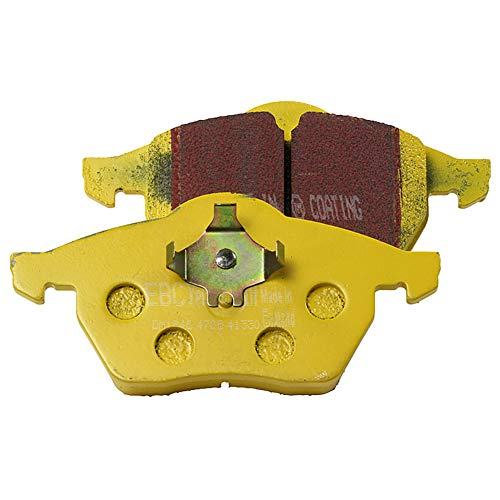 EBC Brakes EBC Yellowstuff Brake Pads DP41198R, Yellow from EBC
