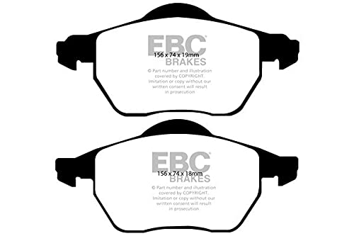 EBC Brakes DP41439R Yellow stuff Brake Pads from EBC