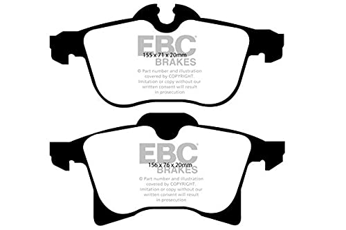 EBC Brakes DP41520R Yellow stuff Brake Pads from EBC