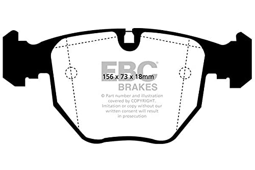 EBC Brakes DP51036NDX Blue stuff NDX Brake Pads from EBC