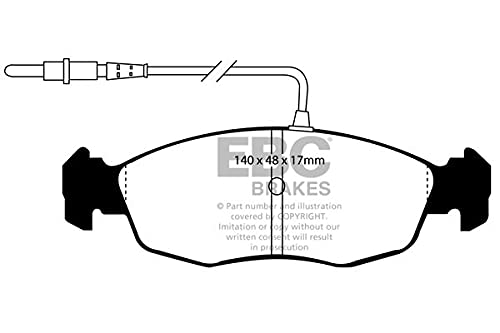 EBC Brakes DP5948NDX Blue stuff NDX Brake Pads from EBC