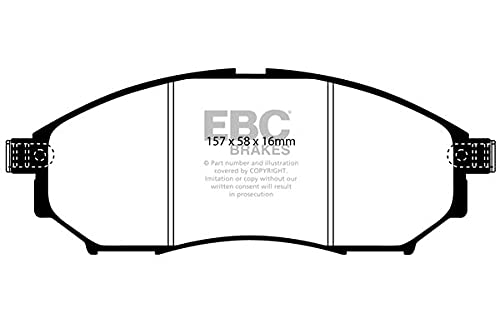 EBC Brakes DP61671 Green stuff Brake Pads 6000er-Serie from EBC