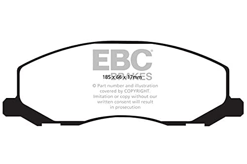 EBC Brakes DPX2015 Blackstuff Brake Pads from EBC