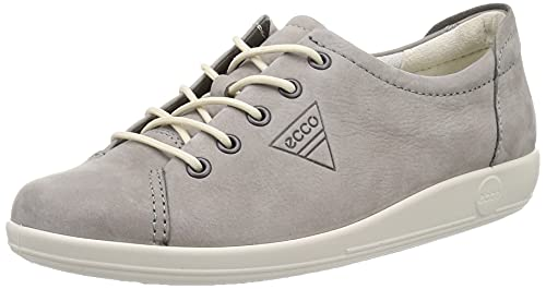 ECCO Soft 2.0, Women's Derby, Grey (2375 Warm Grey), 6  UK (39 EU) from ECCO