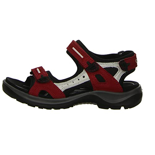 ECCO Offroad, Athletic Sandals Women's, Red (Chilired / Concrete / Black 55287), 3 UK from ECCO