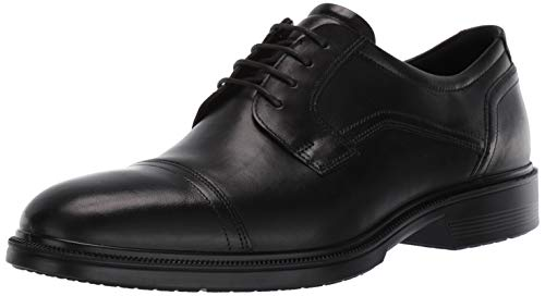 ECCO Men's Lisbon Derbys, Black, 10 UK from ECCO