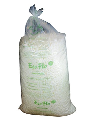 1 Large Bag (15 CUBIC FEET) Of Ecoflo Biodegradable Packing Peanuts - Protective Postal Mailing Packaging Packing Void Loose Fill Filler Filling Supplies from ECO-FLO