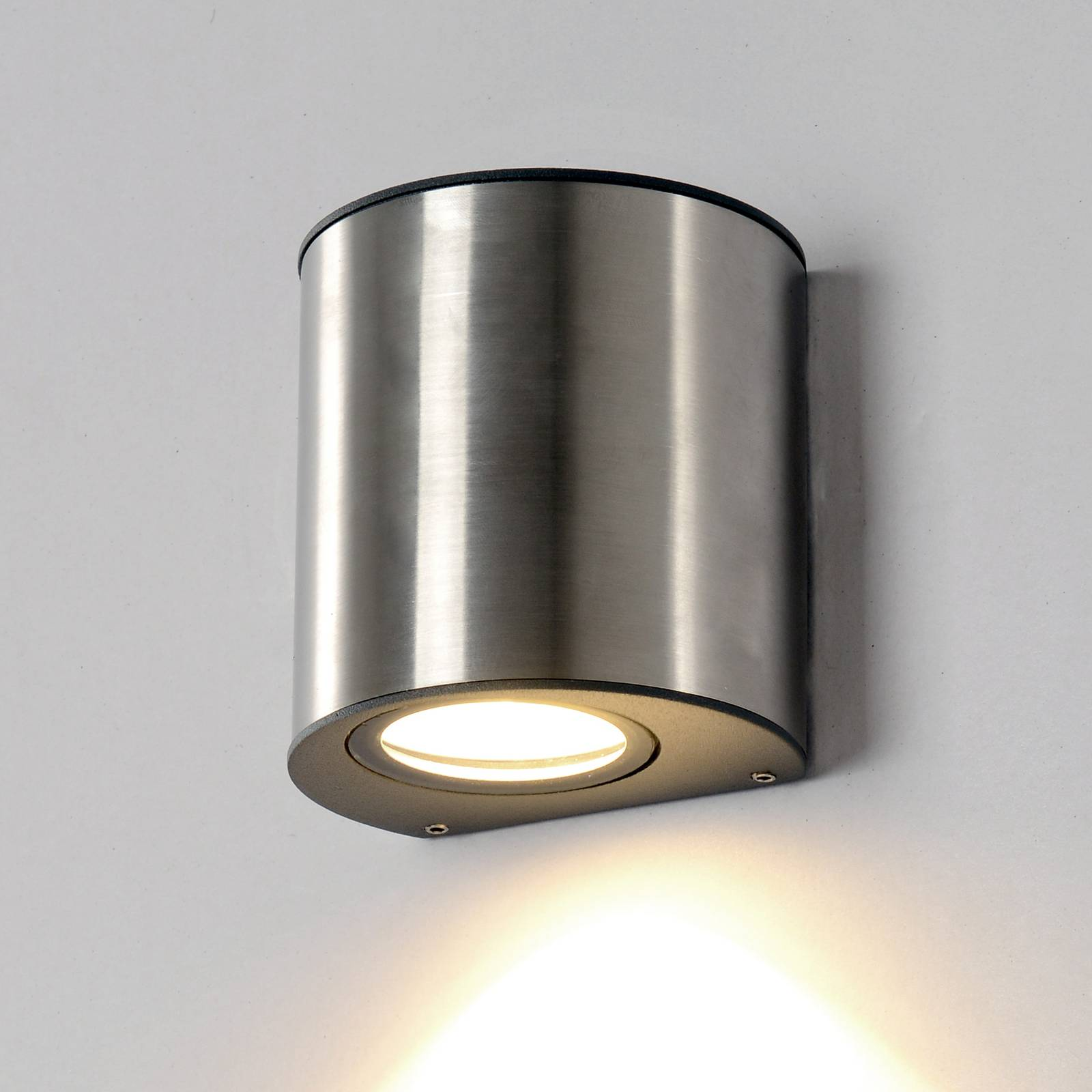 Small LED wall lamp Ilumi for outdoor areas from Eco-Light