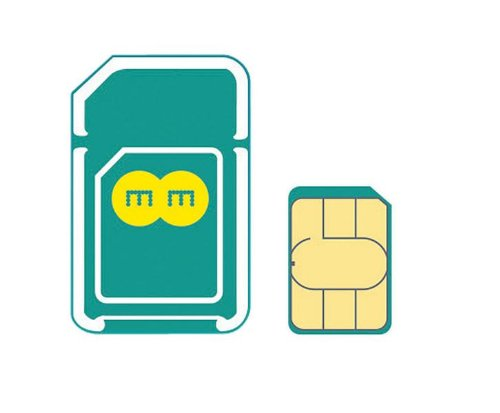 EE 4G 6GB Pay As You Go Mobile Broadband Combi Sim (Discontinued by manufacturer) from EE