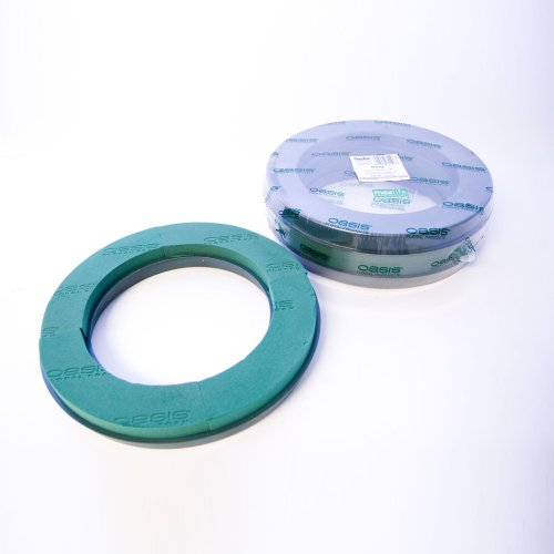 "Pack of 2 Naylorbase Plastic Wreath Rings 14"" (36cm) from Smithers Oasis"