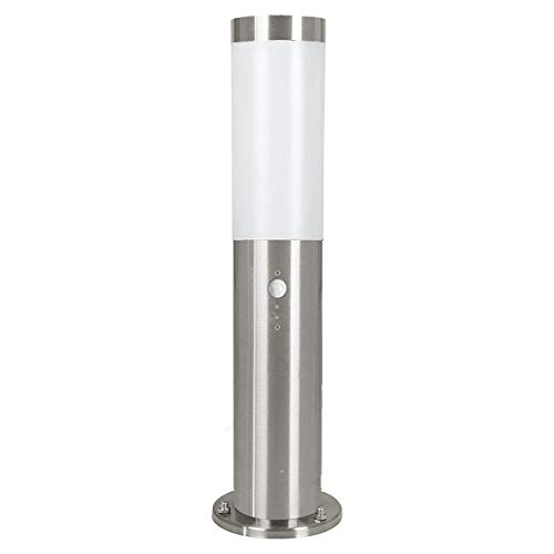 Eglo Helsinki 83279 Outdoor Base Light with Stainless Steel Sensor Diameter 7.5 cm Height 45 cm Steel from EGLO; my light; my style