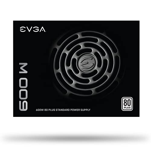 EVGA 600 W1, 80+ WHITE 600W, Power Supply 100-W1-0600-K3 from EVGA