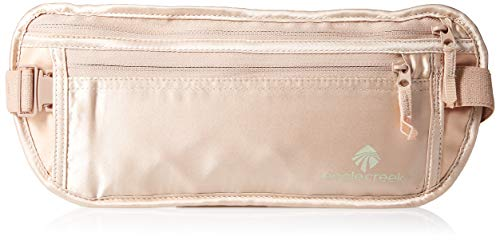 Eagle Creek Flache Seiden Bauchtasche Hüfttasche Silk Undercover Money Belt Geldgürtel für Sport und Reisen Belt, 29 cm, Pink (Rose) from Eagle Creek