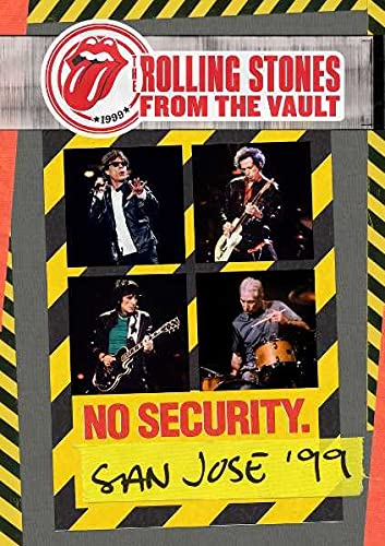 The Rolling Stones - From The Vault: No Security San Jose '99 [DVD] [2018] from Eagle Rock