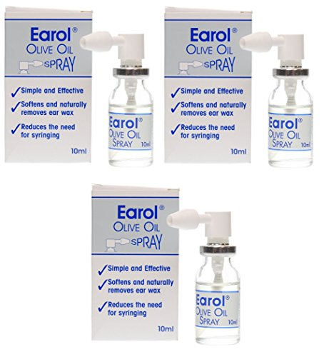 Earol Olive Oil Spray 10ml (3) from Earol