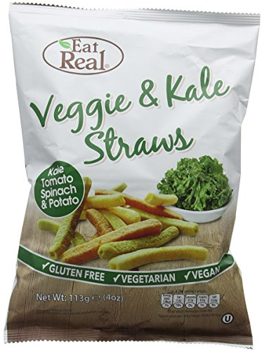 Eat Real Veggie and Kale Straws 142 g (Pack of 12) from Eat Real