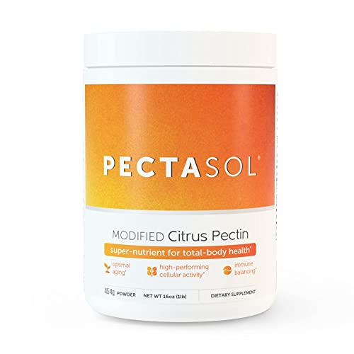 EcoNugenics - PectaSol-C Modified Citrus Pectin - 454 Grams | Professionally Formulated to Help Maintain Healthy Galectin-3 Levels | Supports Cellular & Immune System Health | Safe & Natural from EcoNugenics