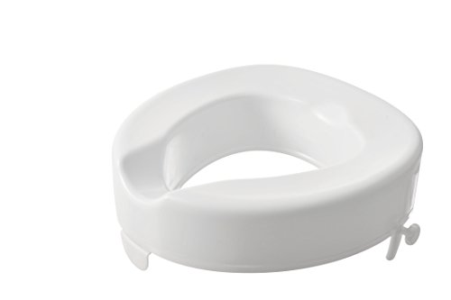 "Serenity Raised Toilet Seat - 4"" (Without Lid) from Ecuva"