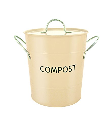 Eddingtons Compost Pail, Buttercream from The Caddy Company