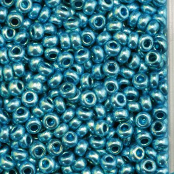 Efco 1022157 2.6 mm 17 g Indian Beads Metallic, Turquoise from Efco