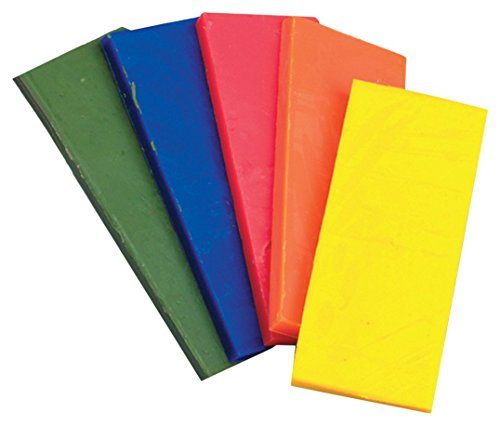 Efco Modelling Wax Sheet 100x40x5mm 5 pcs. Assorted, Multicoloured, 10x2x6 cm from Efco