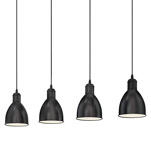 Eglo 49466 pendant lamp, black from Eglo