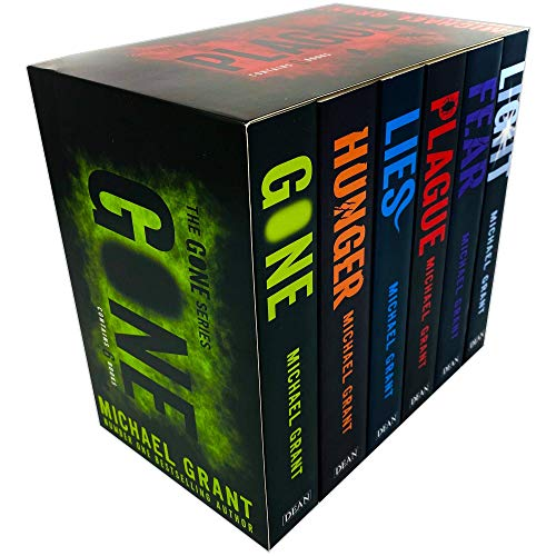 Gone Series Michael Grant Collection 6 Books Set New cover (Light, Gone, Hunger, Lies, Plague, Fear) from Egmont
